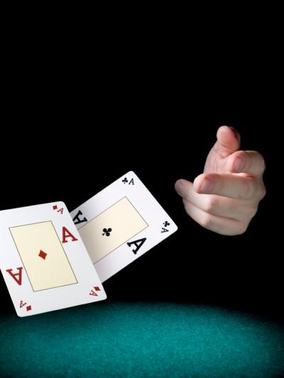 Kasta korten